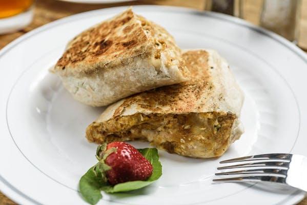 Boudin Breakfast Burrito
