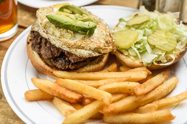 Egg & Avocado Burger