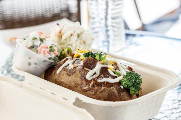 Veggie Baked Potato