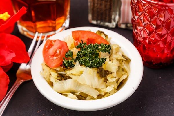 Seasoned Cabbage Greens