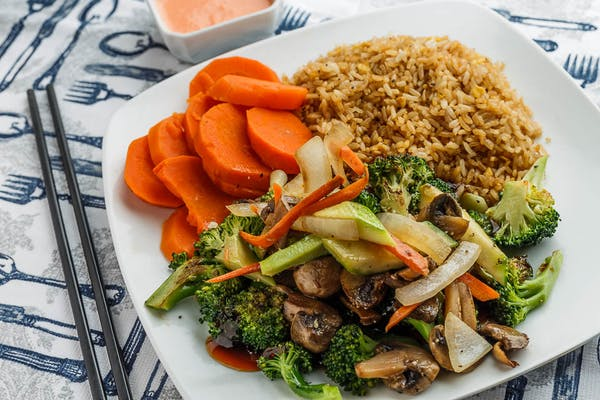Vegetable Hibachi Dinner