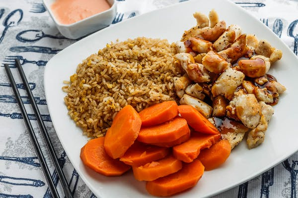 Chicken Hibachi Lunch