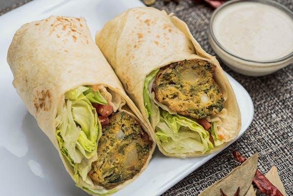 Pakora Veggie Wrap