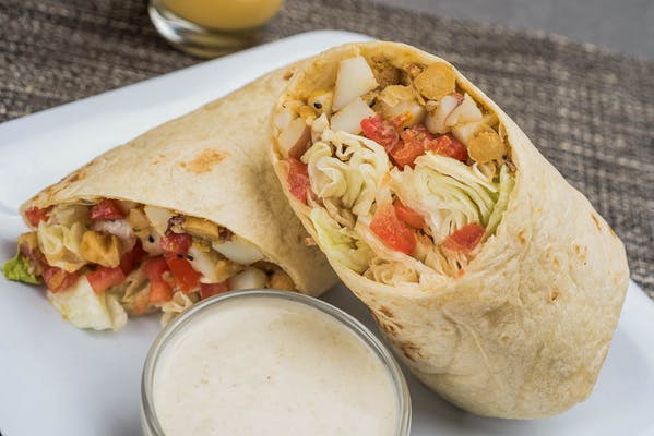 Alu Chana Wrap