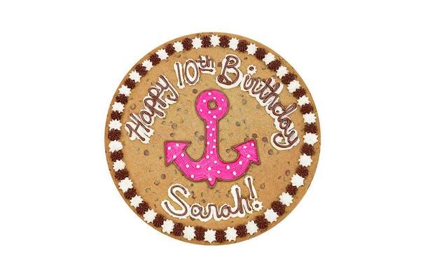 "(16"") Anchor Design Cookie Cake"