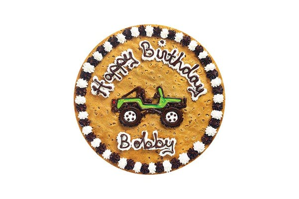 "(16"") Jeep Design Cookie Cake"