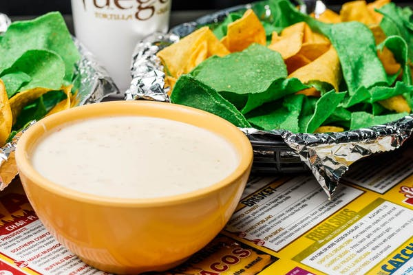 Roasted Poblano Queso