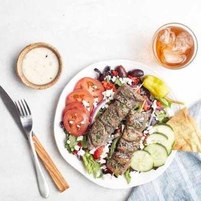 Grilled Beef Kebobs (Dinner)