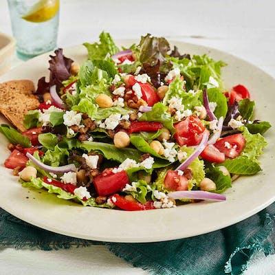 Beef Kebob Mediterranean Salad