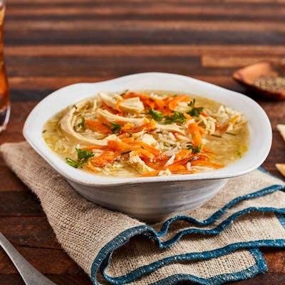 Homemade Greek Lemon Chicken Soup