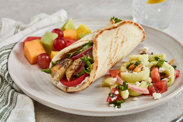Grilled Chicken Gyro