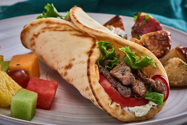 Grilled Lamb Gyro