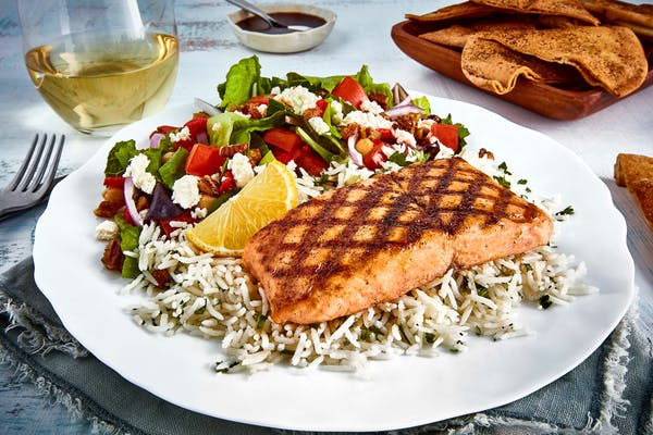 Grilled Salmon Feast