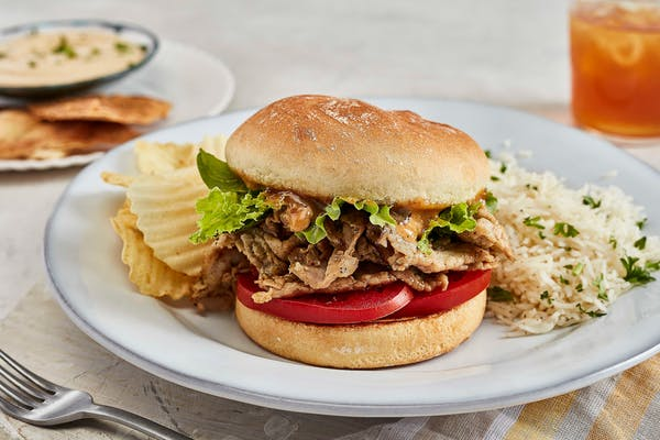 Roasted Pork Loin Sandwich