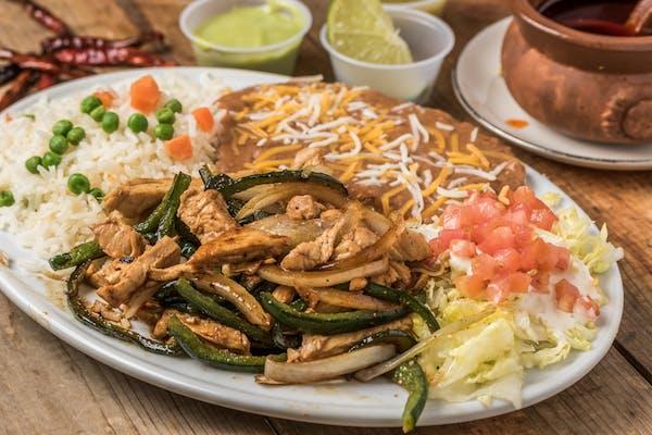 Chicken or Beef Fajitas