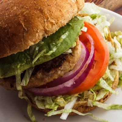 Turkey Avocado Burger
