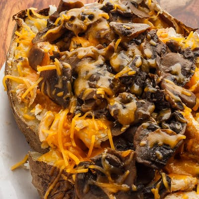 Mushroom Chicken Spud