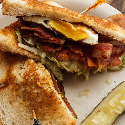 BLT & Egg Sandwich
