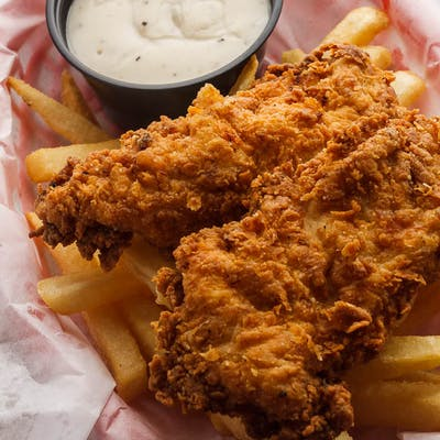 Kid's Chicken Strip & Fries