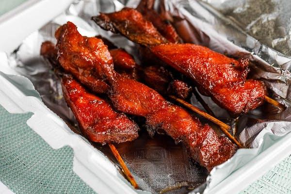 Chicken on a Stick Appetizer