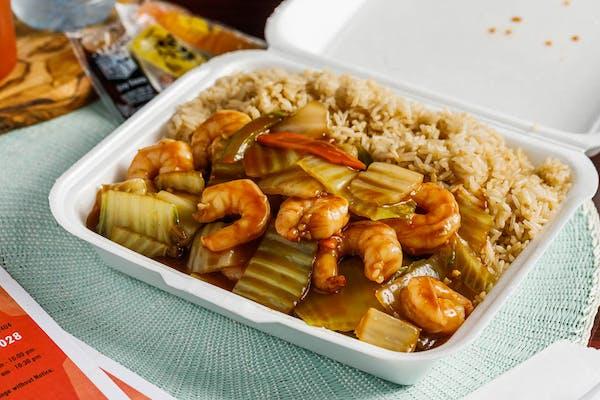 Shrimp & Chinese Vegetables
