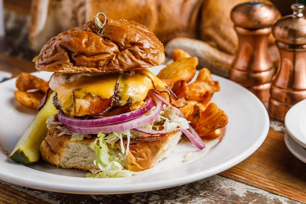 Grass Fed Bethesda Burger