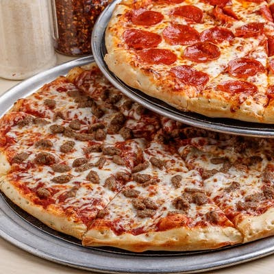 2. Two Large One-Topping Pizzas