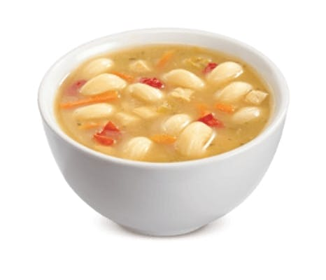 Chicken and Cavatappi Noodle Soup