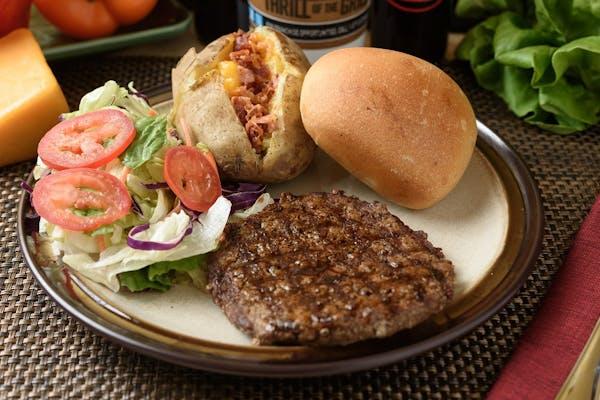 Lunch Chopped Steak