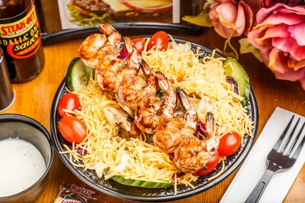 Grilled Shrimp Chef Salad
