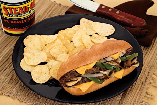 Sirloin Cheesesteak Sandwich