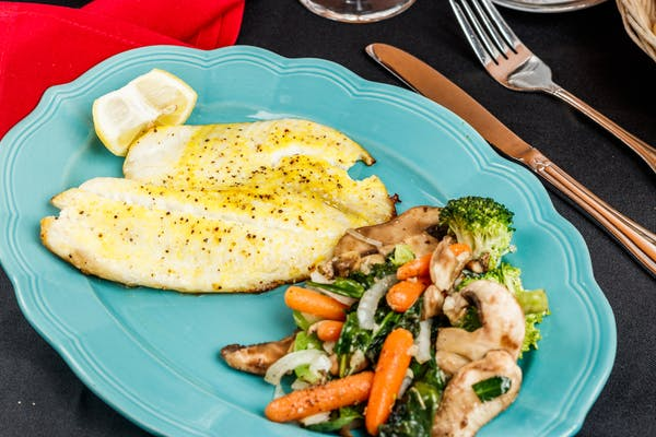 Grilled Tilapia with Vegetables
