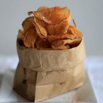 Smoke-Rubbed Chips