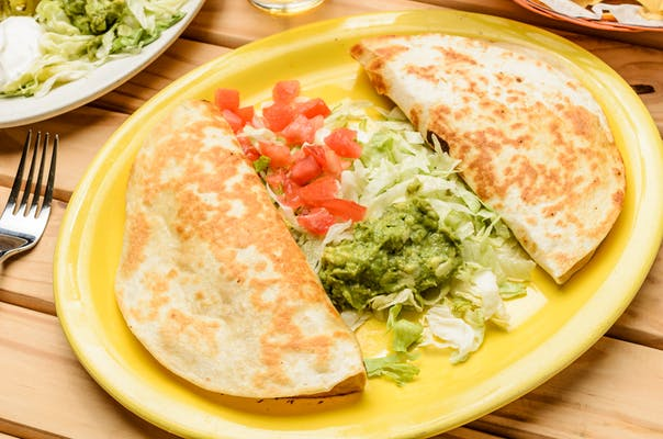 20. (2) Chicken & Cheese Quesadillas