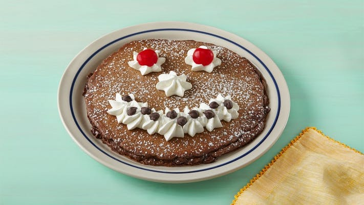 Kid's Funny Face Pancake Combo