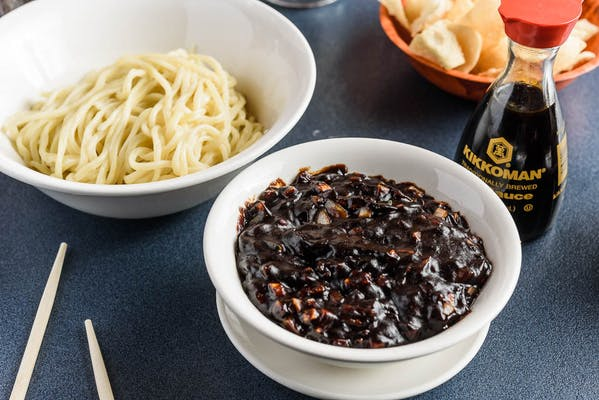 N1. Noodles with Black Bean Sauce