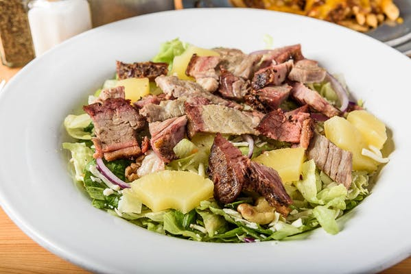 Smoked Brisket Pepper Jack Salad