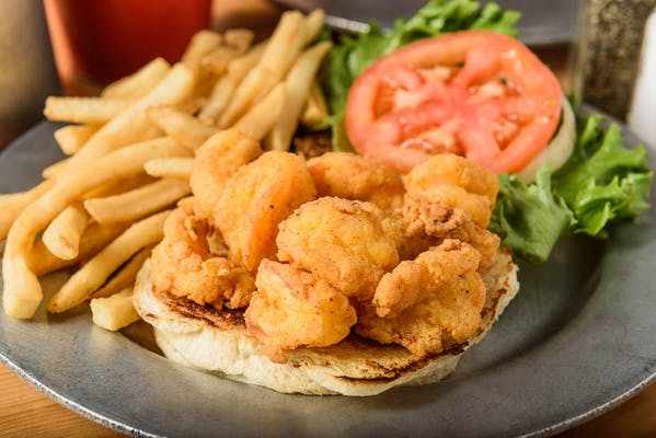 Fried Shrimp Sandwich