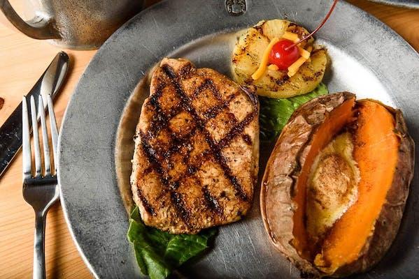 Lighten Up Pork Chop