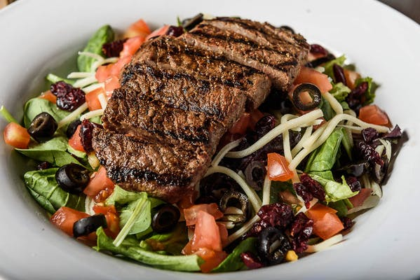 Sirloin Steak Swiss Salad