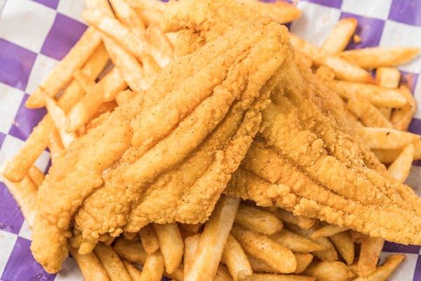 Fried Catfish & Fries