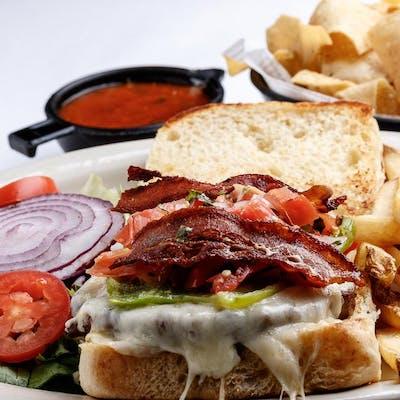 Anaheim Chile Bacon Burger