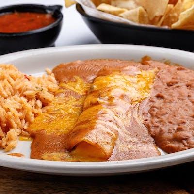Senior Enchilada Special