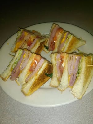 Club Sandwich W/ French Fries