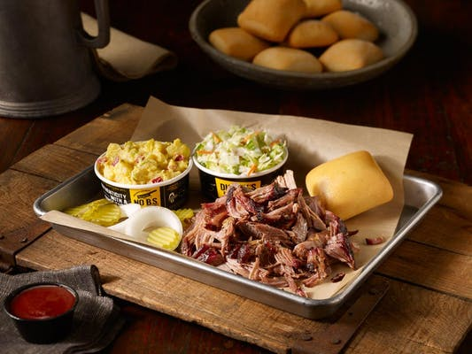 (1) BBQ Meat Plate
