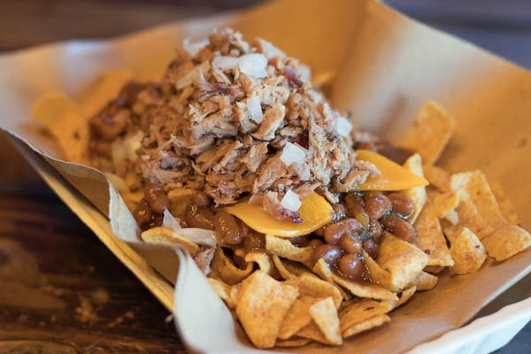 Texas Frito Pie Stack