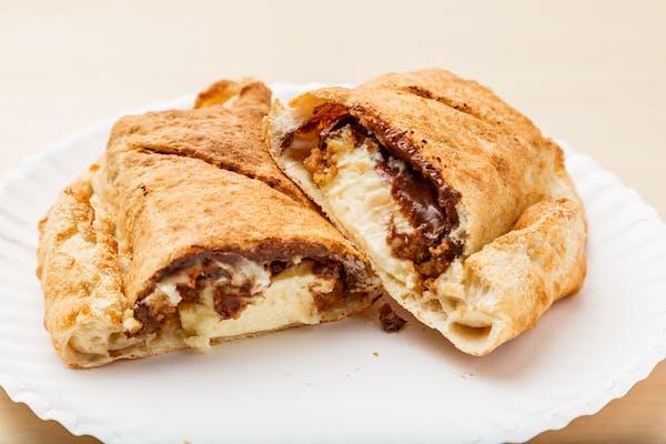 Chocolate Cheesecake Calzone