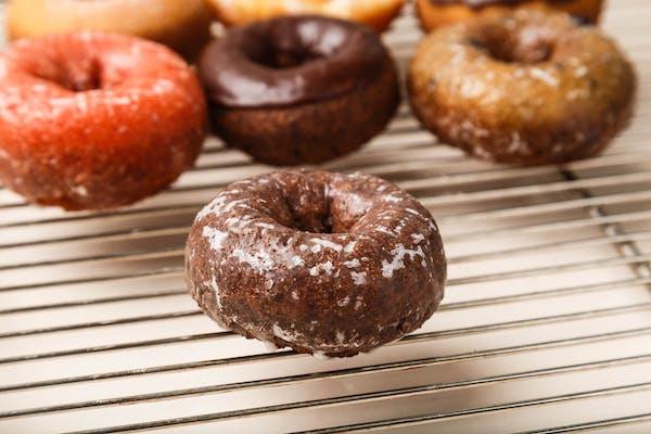 Chocolate Glaze Cake Donut