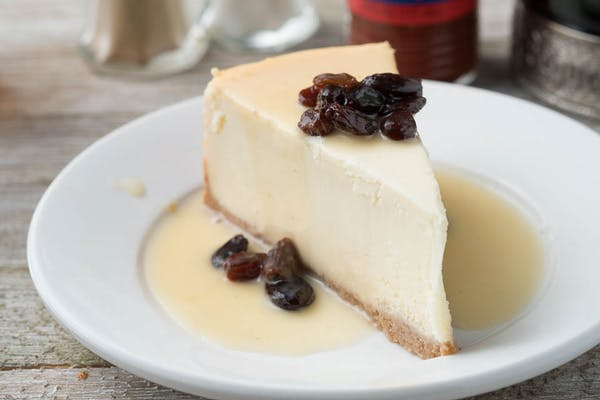Sinful Rum & Raisin Cheesecake