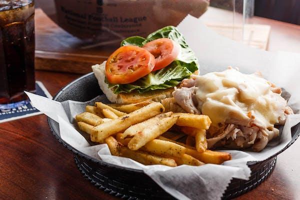 Turkey Swiss Sandwich